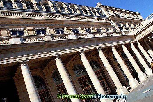 Louvre Museum by Everett Spruill