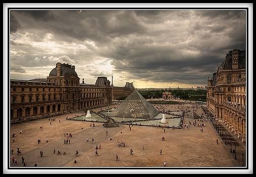 Louvre Paris by Mingwei Li