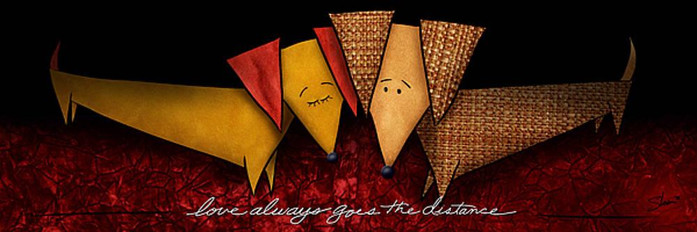 Love Always Goes The Distance by Shevon Johnson