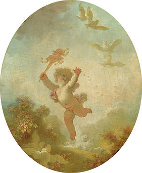Love As Folly by Jean-Honore Fragonard