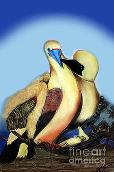 Love Birds by Dipali Shah