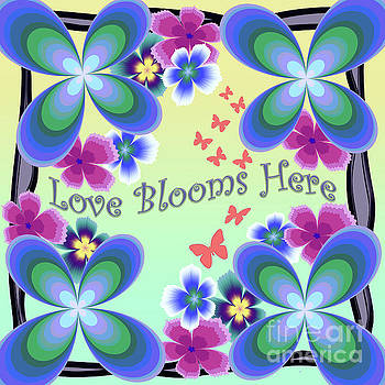 Love Blooms Here by Kimberly Hansen
