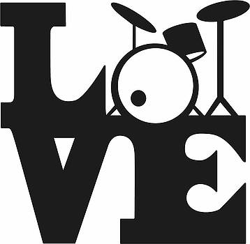 Love Drums by Pete Maier
