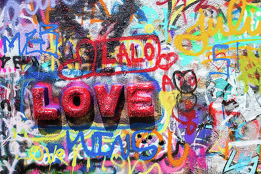 Love Graffiti by Steven Bateson