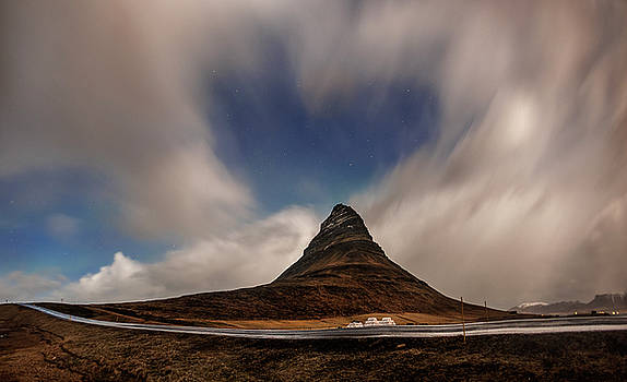 Love in Nature over Kirkjufell by Pradeep Raja PRINTS