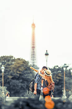 Love in Paris by Youshij Yousefzadeh