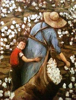 Love in the Cottonfield by Joseph Baker