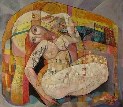 Love is a temple by GALA Koleva