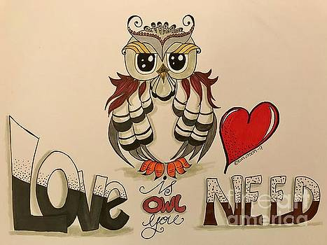 Love is OWL you need by Eva Ason