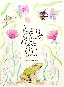 Love is Patient by Susan Jenkins