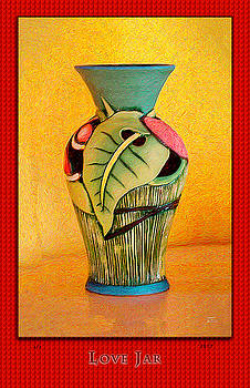 Joe Paradis - Love Jar Red Background