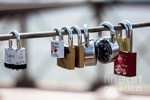 Love Locks by Valerie Morrison