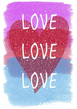 Love Love Love by Pam  Holdsworth