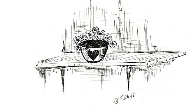 Love of Flowers  by Teresa White
