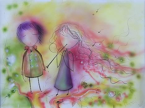 Love of Music by Nino Gabashvili