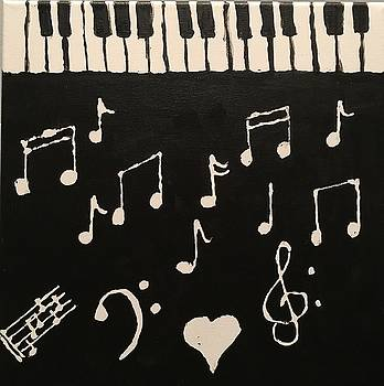 Love of music by Robin Gill