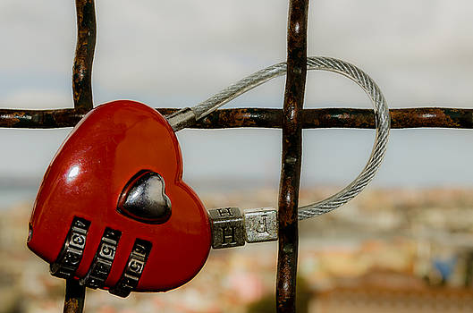 Love Padlock I by Alexandre Martins