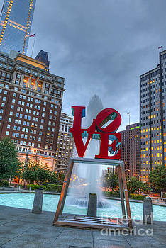 David Zanzinger - Love Park Philly Town