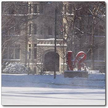 Love The Windy Snow by Jen Peterman