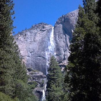 Love Waterfalls.  Yosemite Has Many by Tonie Cook