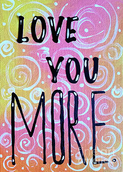 Love You More by Jackie Carpenter