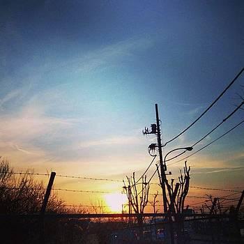 #love_all_sky #sunset #sunsets #sky by Bow Sanpo