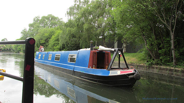 Loved-up On A Canal Boat - Park Royal by Mudiama Kammoh