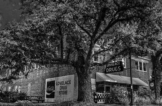Lovelace Drugstore and Soda Fountain by Michael Touchet