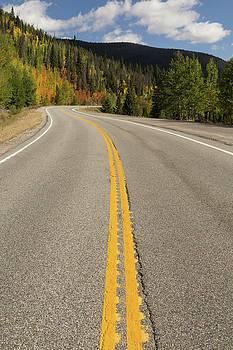 Loveland Pass Fall Curve by John Daly