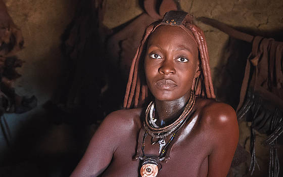 Lovely Himba lady by Sandy Schepis