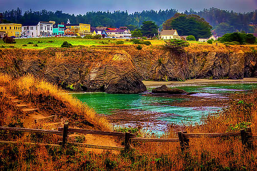 Lovely Mendocino by Garry Gay
