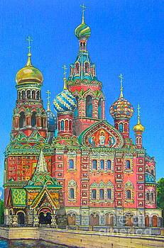 Russian church by Elena Yalcin