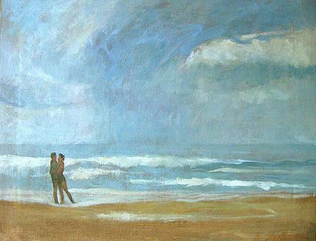 Lovers in South Beach by Zois Shuttie