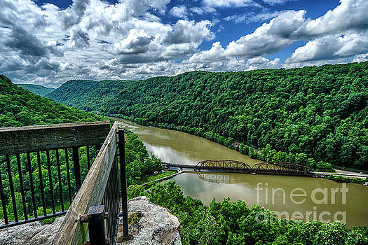 Lovers Leap Overlook by Thomas R Fletcher