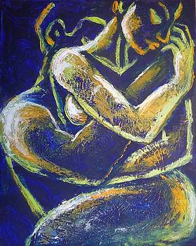 Lovers - Night Of Passion 1  by Carmen Tyrrell