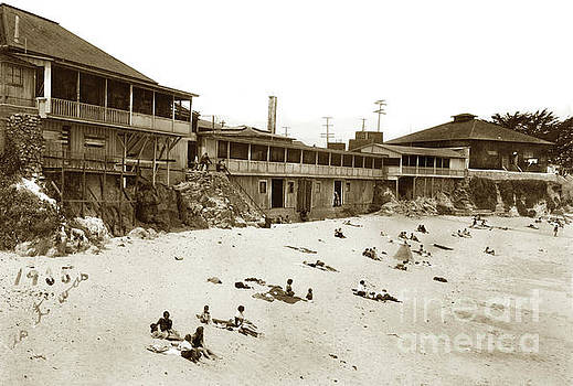 California Views Mr Pat Hathaway Archives - Lovers Point Beach, Pacific Grove 1935