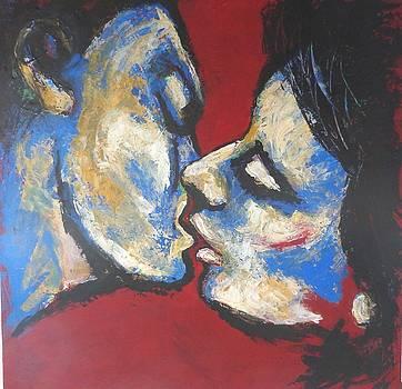 Lovers - Soft Kiss by Carmen Tyrrell