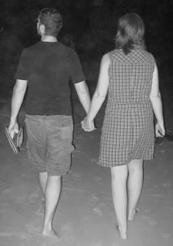 Lovers Walk by Jennifer  Sweet