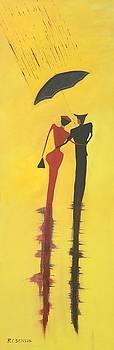 Richard Benson - Walking in the Rain is No2 Lovers Walk series