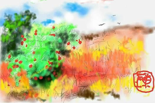 lovin Idaho autumn by Debbi Saccomanno Chan