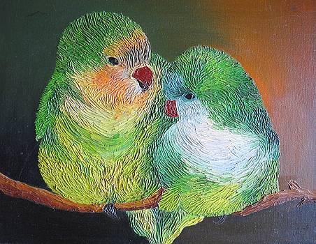 Xafira Mendonsa - Loving Birds