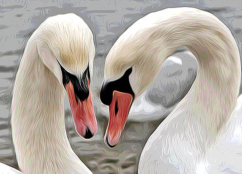 Loving Couple by Elaine Somers