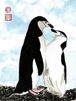 Loving Penguins by Terri Harris