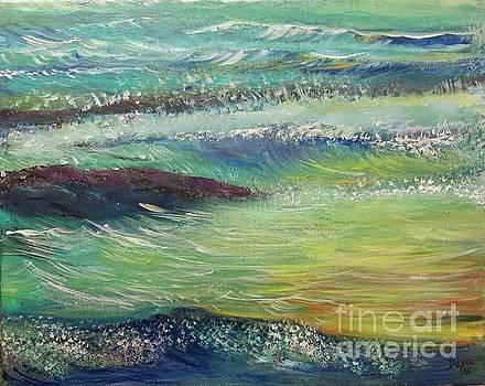 Loving the Ocean by Deyanira Harris