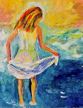 Loving the water by Carol Stanley