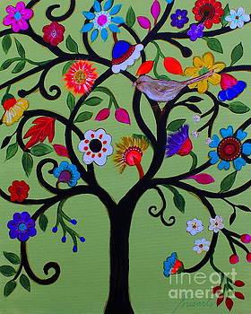 PRISTINE CARTERA TURKUS - LOVING TREE OF LIFE
