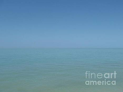 Loving Union Of Sky And Ocean by Agnieszka Ledwon