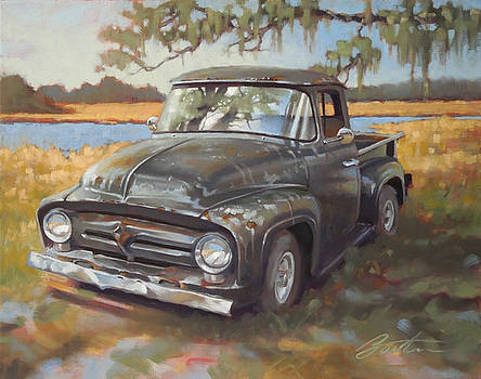 Low Country Parking by Todd Baxter