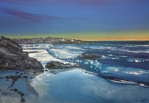 Low Tide and Light, St.Ives by Keran Sunaski Gilmore