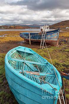 Low tide, Bedachro, Scotland by David Bleeker